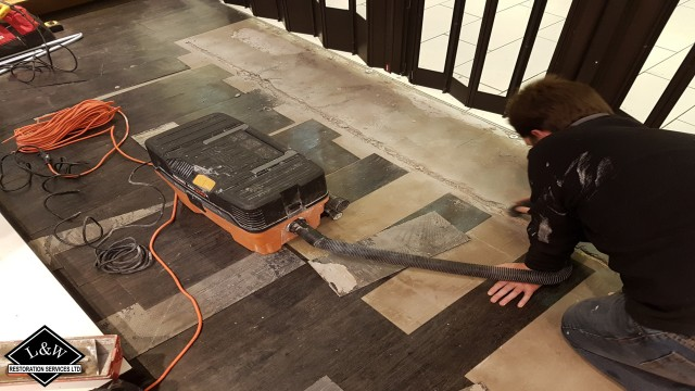 Flooring Tile Repair & Replacement
